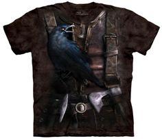 Boutique The Mountain t-shirts : Viking raven