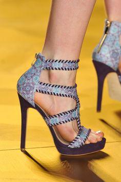Nicole Miller at New York Fashion Week Spring 2014 - StyleBistro