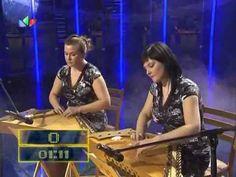"2 girls (Viktorija and Lijana) playing Linkin Park - Numb with kanklės (Lithuanian folk instrument) in Lithuanian talent show ""2 Minutės Šlovės"" - ""2 Minutes..."