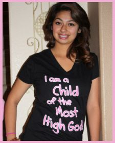 Christian Clothing | Faith Baby | I am a Child of the Most High God    FaithBaby.com