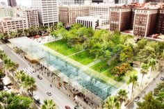 Pershing Square, Los Angeles, CA - Agence Ter