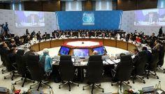 Líderes do G20 reunidos em Antália, na Turquia (foto: EPA)