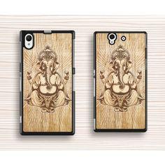 royally Sony case,elephant Sony xperia Z case,art wood xperia Z1 case,wood elephant xperia Z3 case,elephant king xperia Z2 case,Christmas gift - Sony Case