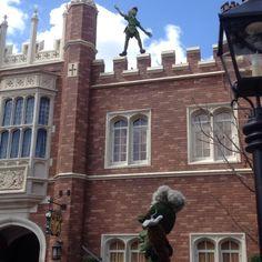 2015 EPCOT Flower & Garden - I'll get you Peter Pan!