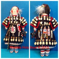 \'My Little Winona\' Rhonda Holy Bear 2013 Traditional Lakota Doll