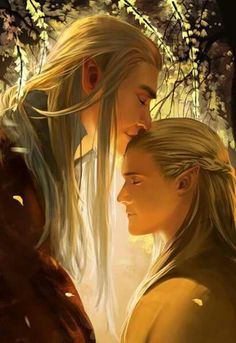 I love you Ion nin - Thranduil and Legolas