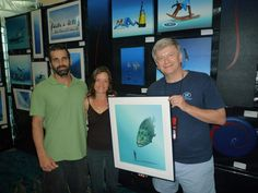 Last day for the Blue Wild Expo at the Convention Center Fort Lauderdale. Huge turn out !