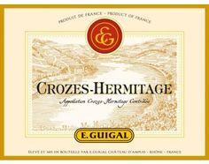 Vin Crozes-Hermitage Rouge Millésime 2010 | E.GUIGAL