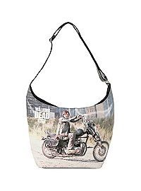 HOTTOPIC.COM - The Walking Dead Daryl PU Hobo Bag