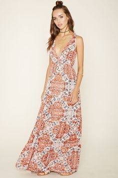 Raga Tiered Floral Maxi Dress