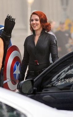 Scarlett Johansson.  Beautiful even when she isn't in some over-sexualized pose.