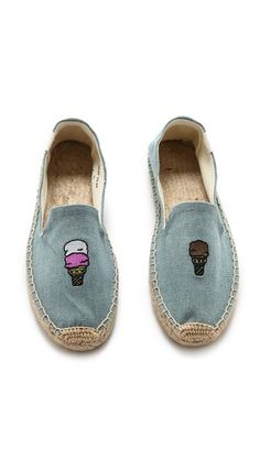 Soludos Jason Polan for Soludos Ice Cream Espadrilles Women's Espadrilles, Ladies Espadrilles, Oxford Brogues, All About Shoes, Pretty Shoes, Swag Outfits, Pumps, Heels, Summer Shoes