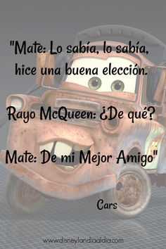 67 Ideas cars de disney frases for 2019 Disney Cars, Disney Pixar, Walt Disney, Disney Movie Quotes, Disney Movies, Frases Tumblr, Bullet Journal Ideas Pages, Disney Marvel, Spanish Quotes