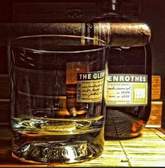 Glenrothes and accompanying whisky cigar.