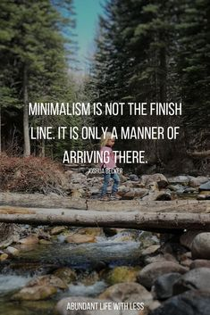 Live a more meaningful life by opting to live with less | Live life on Purpose | Let's take minimalism off the pedestal and call it what it is, a guardrail. It's a tool we use to help us live a meaningful life. #minimalism #minimalismquotes #becomeaminimalist #declutteryourlife #lifeonpurpose