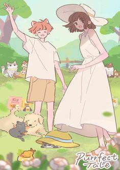 Anime Summer, Art Reference Poses, Cute Cartoon Wallpapers, Aesthetic Anime, Webtoon, Cute Art, Adventure, Games, Mobiles