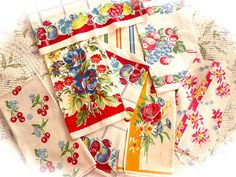Vintage Linens by IamSusie, via Flickr