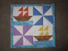 Flags and ships - block 12 x 12'  will use a wall hanging.