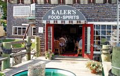 Kaler's Restaurant, Boothbay Harbor's best lobster and seafood in Boothbay Harbor Maine