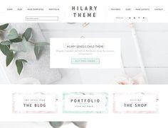 Portfolio eCommerce Genesis theme Hi by Lovely Confetti on @creativemarket