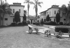 One of the most striking apartment buildings in Fullerton, the Spanish Colonial Revival Dewella Apartments at 232-236 East Wilshire were built for 11,000dollars in 1929.