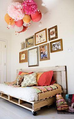 50 ideias criativas para transformar paletes em móveis e objetos de decoração | Economize