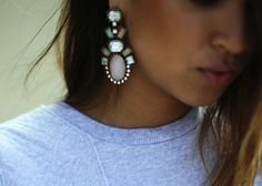 BaubleBar Earrings, Opal Galactic Drops
