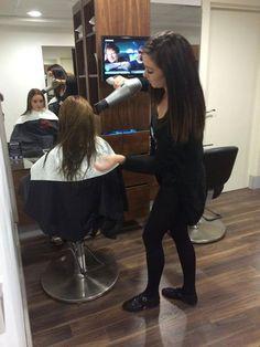 Dublin salon chain House of colour using Easydry hair towels during their apprentice competition - Towel Dublin, Towels, Salons, Competition, Good Things, Colour, Chain, Luxury, House