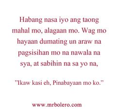 """Top """"TAGALOG LOVE QUOTES"""" and Pinoy Love Quotes Collections"""