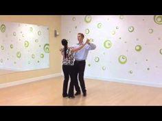 Foxtrot Sway Step - YouTube