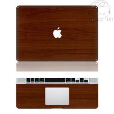 Macbook Decal Mac Stickers Macbook Decals Macbook Stickers Apple Vinyl Decal for Macbook Pro / Macbook Air / iPad - Wood grain on Etsy, $16.80
