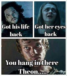 El Descanso del Escriba: Poor Theon