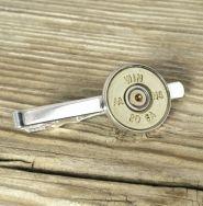 20 Gauge Brass Bullet Tie Clip; $14.95