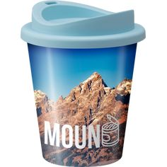 Image of Full colour printed Vending style reusable coffee cup with lid Plastic Drink Bottles, Bpa Free Bottles, Glass Bottles, Coffee Tumbler, Coffee Mugs, Eco Cup, Take Away Cup, Glass Coffee Cups, Reusable Coffee Cup