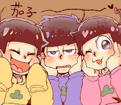 Ichimatsu, todomatsu, and jyushimatsu