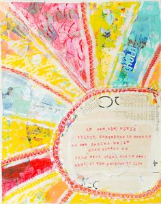 Walter Mitty QuoteMixed Media Art by TheRosyLife on Etsy, $18.00