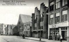 Groningen<br />De stad Groningen: W.A. Scholtenstraat 1937