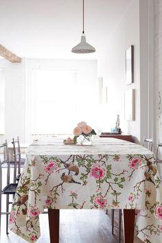 Erica Tanov Lovebirds fabric ; Gardenista