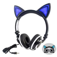 Cat Ear Headset, Gaming Headset, Cat Headphones, Sports Headphones, Android Phone, Gamer Room, Jewerly, Memes, Natural