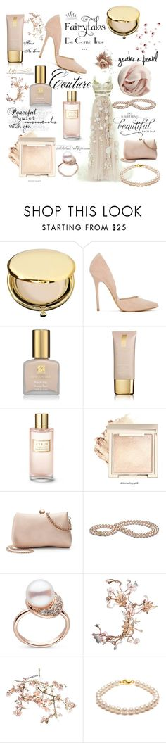 """""""You're a pearl"""" by fini-i ❤ liked on Polyvore featuring Estée Lauder, Steve Madden, WALL, LC Lauren Conrad, Canopy Designs and ORA Pearls"""