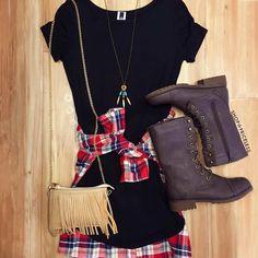 In Harmony Dress - Black