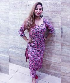 Punjabi dress Punjabi Dress, Cute Girl Face, Love Poems, Cute Girls, Curves, Wrap Dress, Profile, Booty, Indian