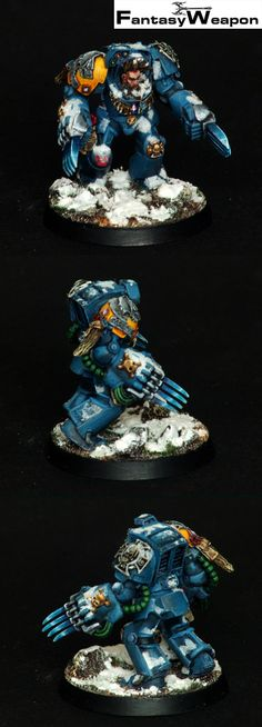 Wolf Guard Terminator with Dual Wolf Claws