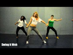 KES - Precision Wine - Dancehall Soca Choreo by Aya - YouTube