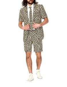 Opposuits Summer The Jag 3 Piece Novelty Occasion Suits for Men, US Size 50 Prom Suits For Men, Mens Suits, Three Piece Suit, 3 Piece Suits, Kentucky Derby Suits, Crazy Suits, Suit Drawing, Halloween Suits, Christmas Suit
