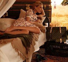 portal to fashion: Louis Vuitton on a Safari