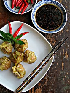 Easy Appie: Red Curry Shrimp Dumplings