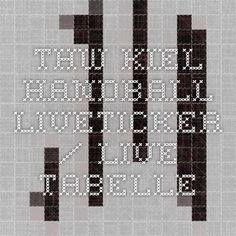THW-Kiel Handball - Liveticker / Live-Tabelle