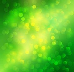 light green bokeh background vector