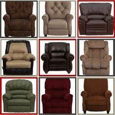 $249 paisley wingback chair - hidden recliner, new | furniture